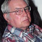 Dwayne Hanson of Nevada, Iowa, sitting in a recliner.